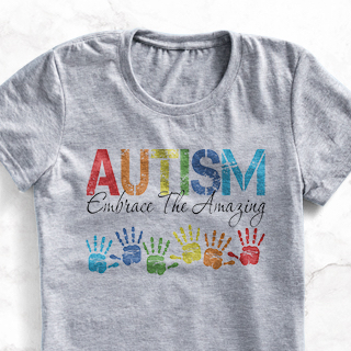Show your support for Autism Awareness Month with custom designed and printed Autism Awareness CafePress Products