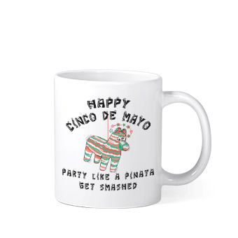 Celebrate 2019 Cinco De Mayo with custom printed original designs ona variety of products from apparel to drinkware, mugs, home goods, blankets, tote bags and more.