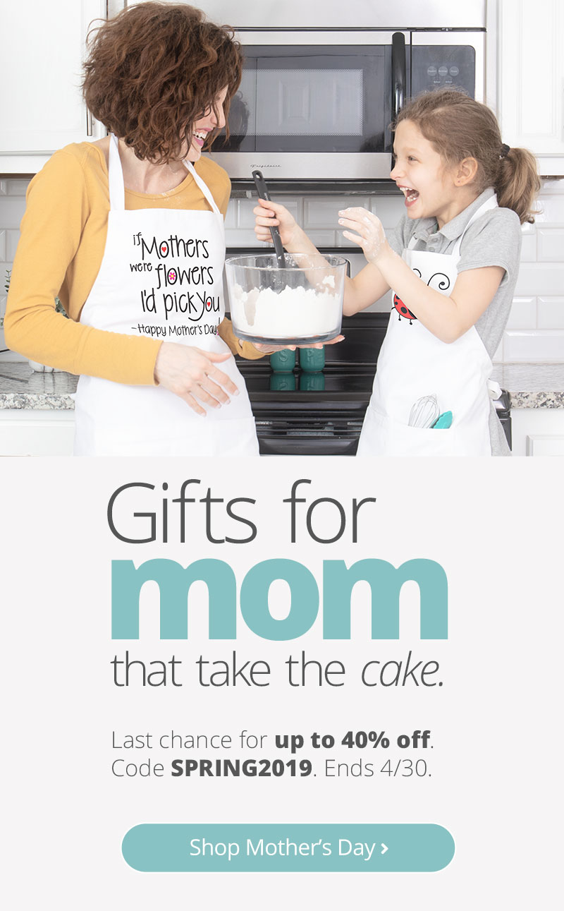 Gift Guide with the best Mother's Day gifts for 2019. Make your mom's day and year with custom designs to show her how much you love her.