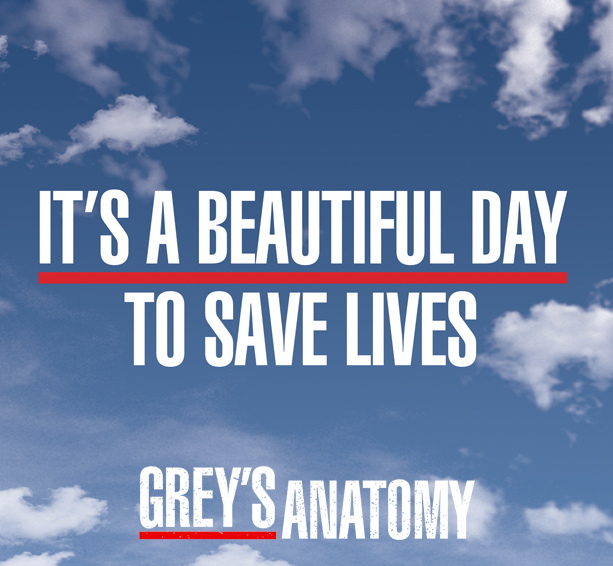Grey's Anatomy licensed merchandise including t-shirts, apparel, drinkware, home decor, and more