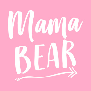 Cute Mama Bear maternity design