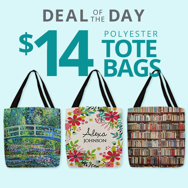 Special Holiday Deal of the Day - $14 Tote Bags - One Day Only