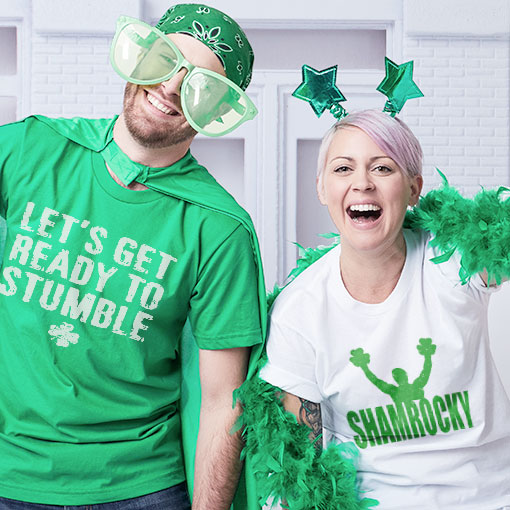 Humorous St. Paddy's Day merchandise to help you get your green on for this fabulous Irish holiday.