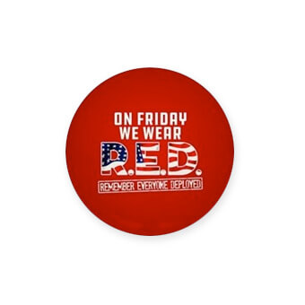 Show your support for our military men who serve with Red Friday merchandise for all branches of the military. T-shirts, apparel, mugs, drinkware, home goods, car accessories, blankets, and more.