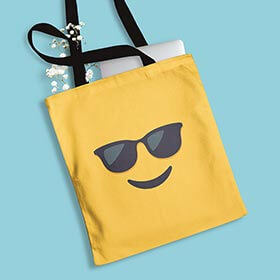 Customized canvas tote bags from Cafepress are perfect for all the fun summer trips to the beach and water parks