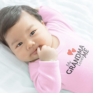 Baby bodysuits make great gifts for any tiem of year, especially Valentine's Day