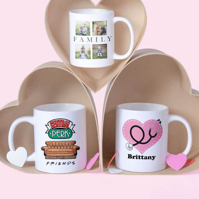 Huge sale on mugs, only $10 each - Great original Valentine's Day gift to last all year long