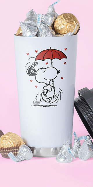 Everyone loves Peanuts - Give the gift of humor for Valentine's Day