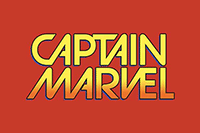 Official licensed Captain Marvel comic custom designs.