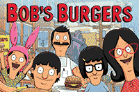 Official licensed Bob's Burgers animated TV show custom designs.