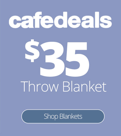cafedeal: Throw Blankets are only $35 for a limited time