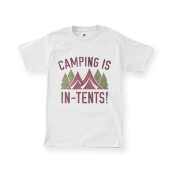 Funny Camping T-Shirts for Vacation