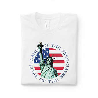 Americana at its best for Fourth of July celebrations. Flip flops, towels, t-shirts, drinkware, blankets and so much more. Make your Fourth of July weekend spectacular go off with a bang.