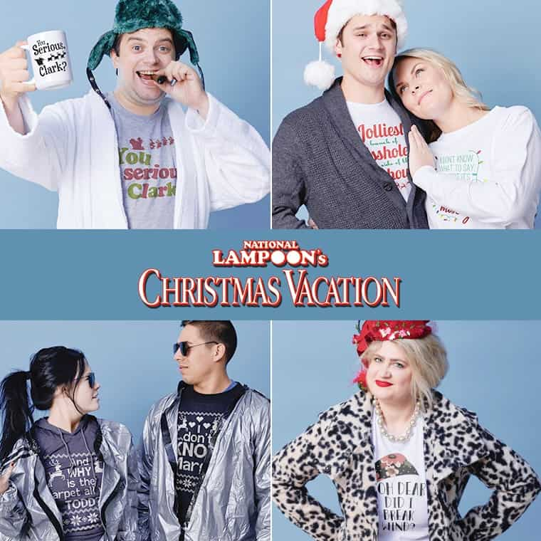 Officially licensed Christmas Vacation design
