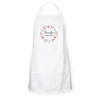 Great Christmas gift ideas for cooks and chefs - monogrammed personalized aprons