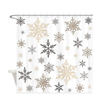 Custom, personalized, your photo, your design, unique, original, Christmas designs on Shower Curtains
