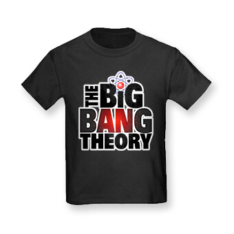 Big Bang Theory Fall TV series t-shirts, mugs, and merchandise
