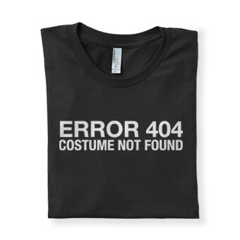 Simple and easy Halloween costumes, t-shirts, apparel, home decor, drinkware, mugs, tote bags, and other merchandise