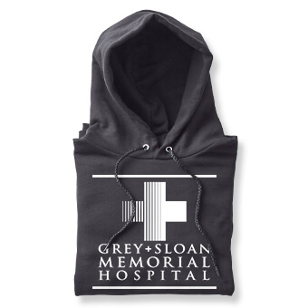 Grey's Anatomy Fall TV series t-shirts, mugs, and merchandise