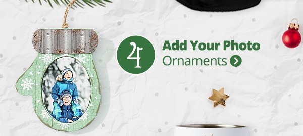Add Your Photo Ornaments