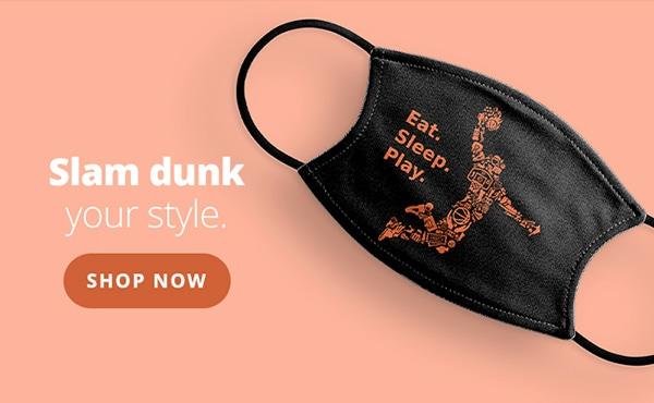 Slam dunk your style Shop Now