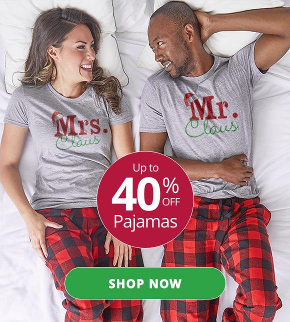 Up to 40% Off Pajamas