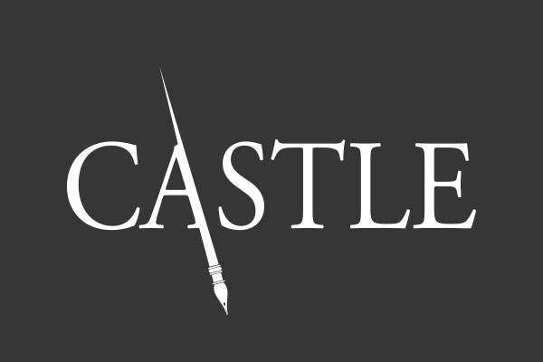 Castle TV Show Square Car Magnets