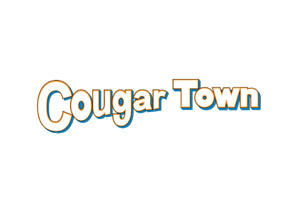 Cougar Town TV Show Silver Teardrop Necklaces