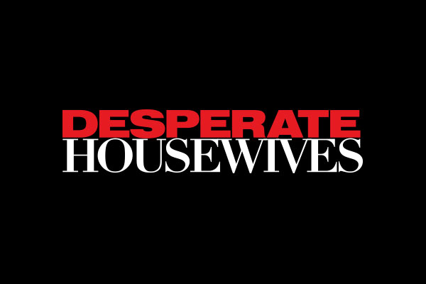 Desperate Housewives TV Show Aluminum Oval Keychains