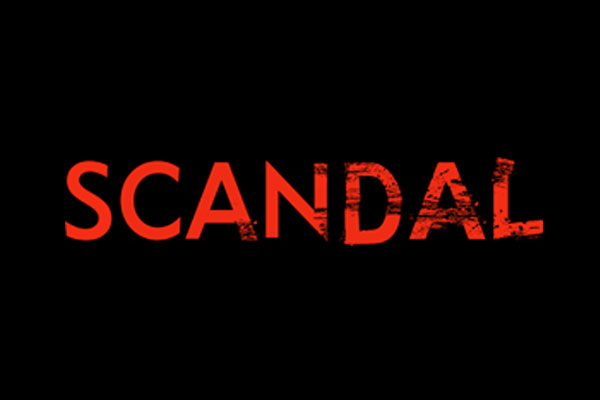 Scandal TV Show Burp Cloths