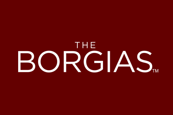The Borgias TV Show Standard Buttons