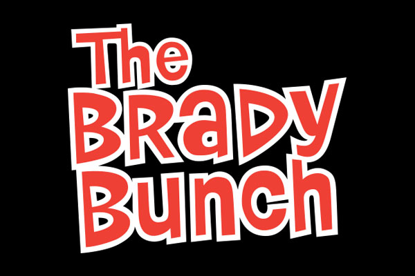 The Brady Bunch TV Show Rectangle Car Magnets