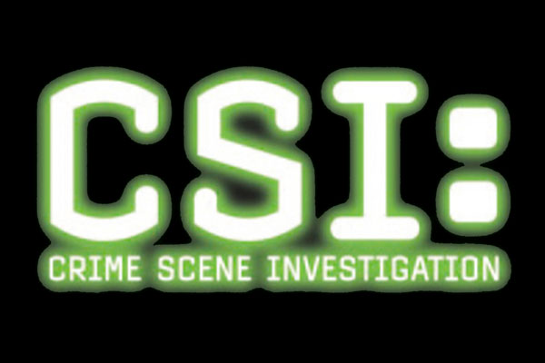 CSI: Las Vegas TV Show Ceramic Oval Ornaments