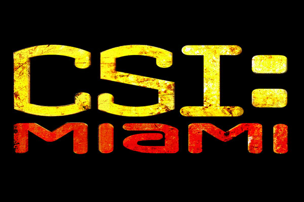 CSI: Miami TV Show Men's Fitted T-Shirts