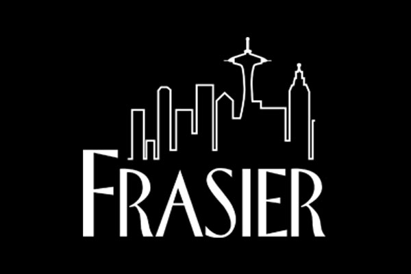 Frasier TV Show Oval Stickers