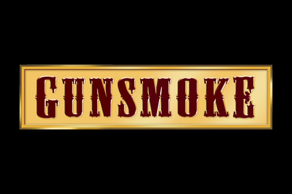 Gunsmoke TV Show Round Car Magnets