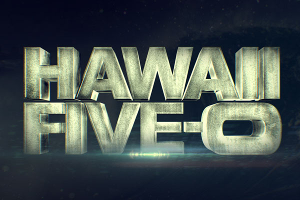 Hawaii Five-0 TV Show Large Buttons