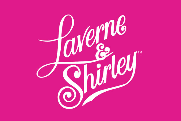 Laverne and Shirley TV Show Standard Buttons