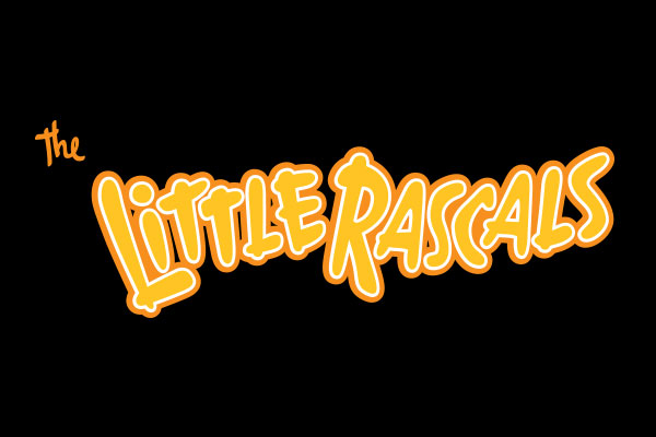 The Little Rascals TV Show Stickers