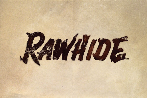Rawhide TV Show Postcards