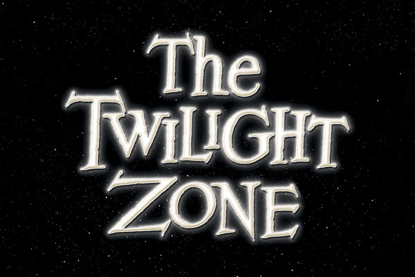The Twilight Zone TV Show Oval Car Magnets