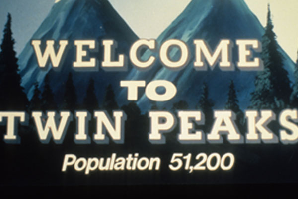 Twin Peaks TV Show Bumper Stickers