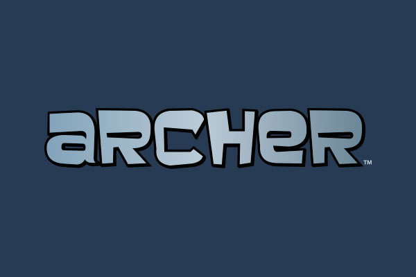 Archer TV Show Large Buttons