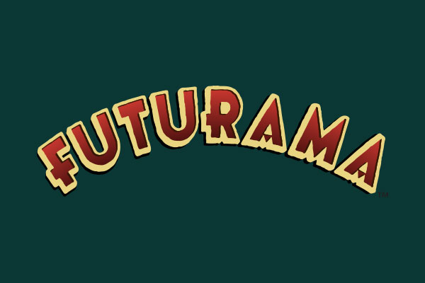 Futurama TV Show Stickers