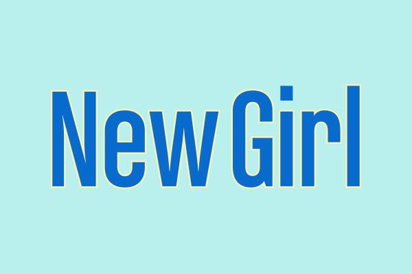 New Girl TV Show Men's Fitted T-Shirts