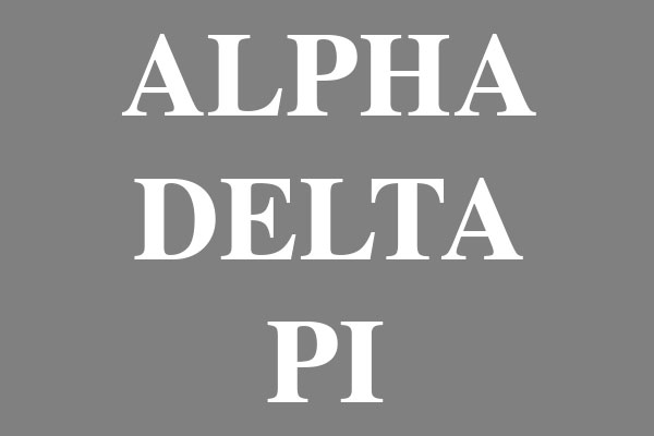 Alpha Delta Pi Sorority Women's Baseball Tees