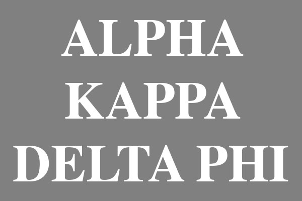 Alpha Kappa Delta Phi Sorority Clearance