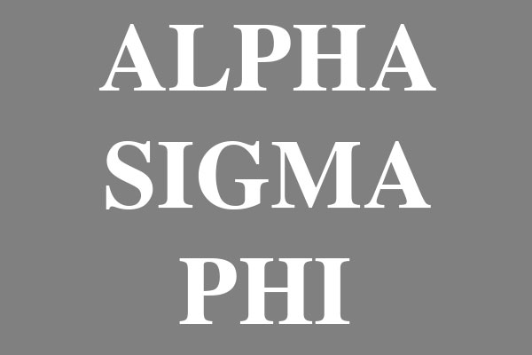 Alpha Sigma Phi Fraternity Men's Football Tees