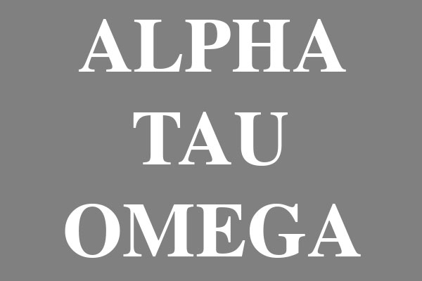 Alpha Tau Omega Fraternity Framed Tiles
