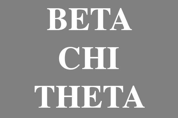 Beta Chi Theta Fraternity Bumper Stickers